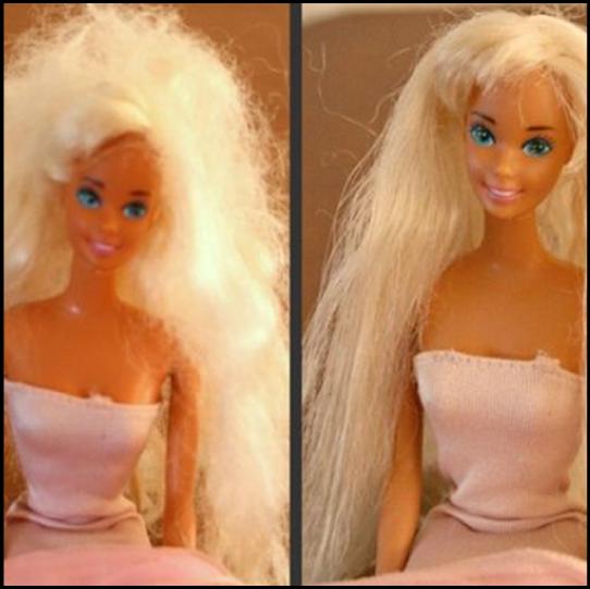 doll-hair