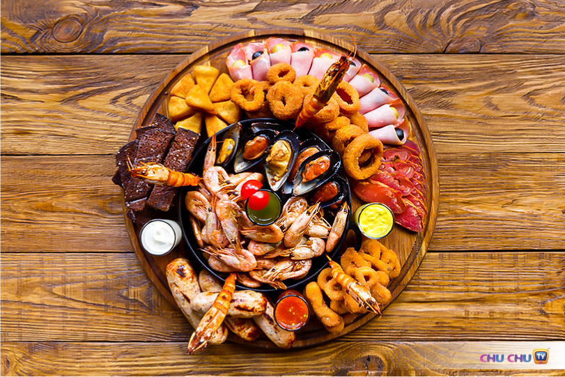 Specific Kinds of Seafood