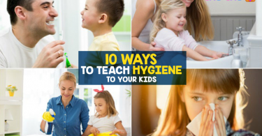 10 Ways to Teach Hygiene to Your Kids