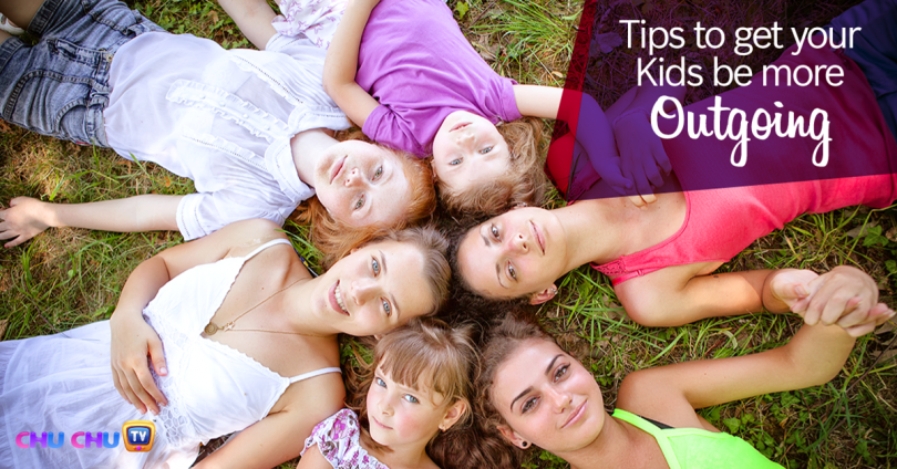 Tips To Help Your Kids Be More Outgoing