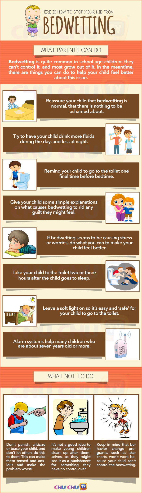 How to Stop Your Kid from Bedwetting