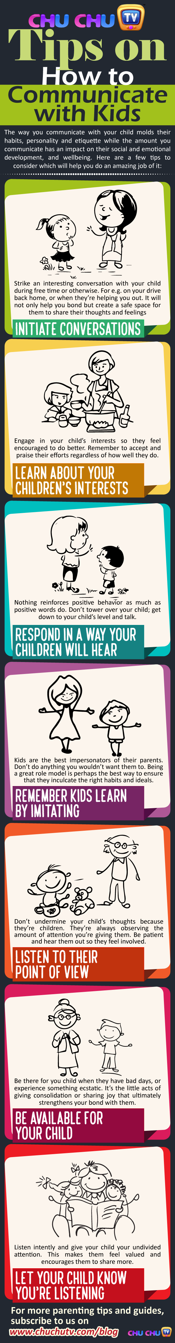Tips on How to Communicate with Kids