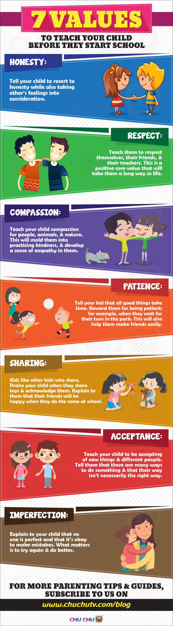 7 Values to Teach Your Child Before They Start School