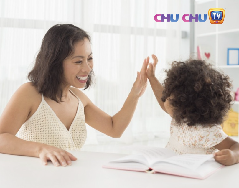 encourage and motivate the child