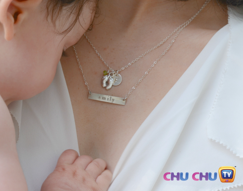 mom and baby jewellery