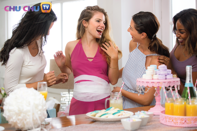 A no-frills baby shower: