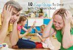 Ways to Deal With Children's Bad Behaviour