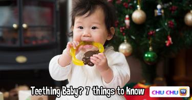 baby teething tips